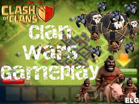 Clan War Gameplay! Replays and Recaps! Hog Riders Raid And Balloonion Strategy! Clash of Clans