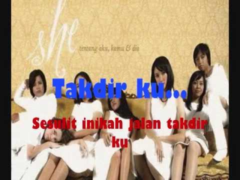 She - Apalah Arti Cinta(With Lyrics) Best View Dari Sinetron Putri Duyung Marina