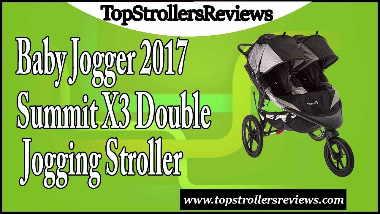 baby jogger summit x3 double review