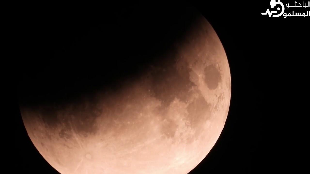 lunar eclipse time lapse test