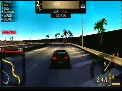 need for speed undercover psp gameplay - YouTube