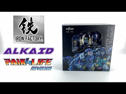 Transformers Review: Iron Factory IF EX-34 Alkaid // P4L Reviews
