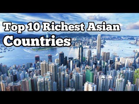 Top 10 Richest Asian Countries