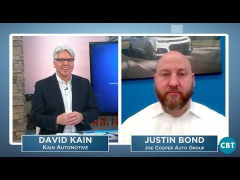 David Kain Interviews Justin Bond on Video Utilization in Dealership on CBT Network