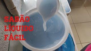 Sabão Liquido Clareador Super fácil de Fazer