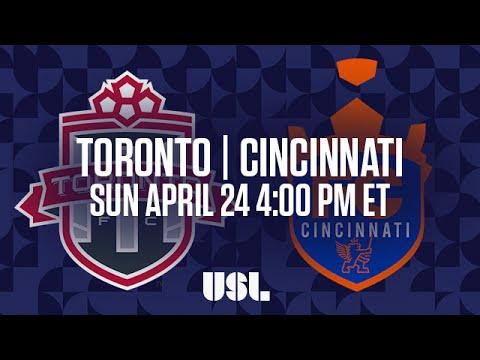 WATCH LIVE: TFC2 v FC Cincinnati - April 24, 2016 4pm EST