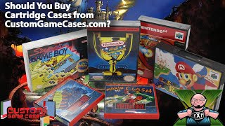 Protect Your Retro Games! Should You Buy Replacement Cartridge Cases from CustomGameCases.com