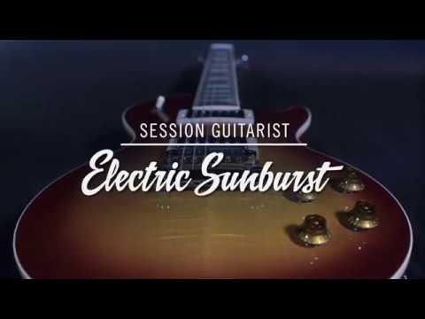 session guitar electric sunburst review
