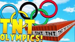 TNT TAG OLYMPICS! - Minecraft TNT GAMES!