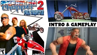 American Chopper 2 Full Throttle   Intro & Gameplay PS2 HD