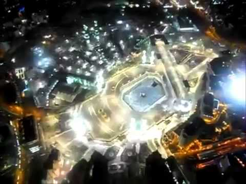 Panorama _ Azan Dari Puncak Jam Makkah ~ Abraj Al-Bait Towers Mecca clock tower 2012 video