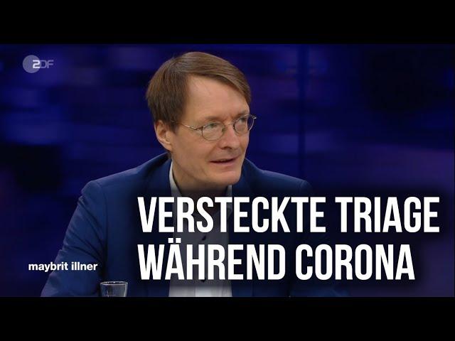 Triage Situation in Deutschland - Ausschnitt aus der Sendung Maybrit Illner
