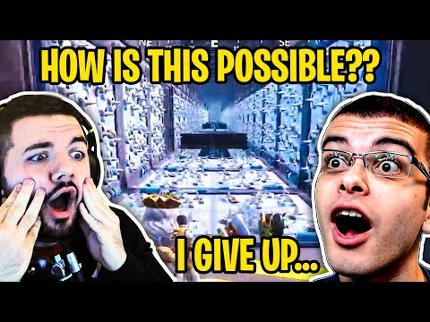 STREAMERS FAIL *RAGE* FORTNITE DEATHRUN CHALLENGE (CREATIVE MODE REACT #3) thumbnail