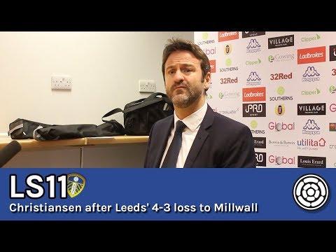 LS11 | Thomas Christiansen on the 4-3 defeat to Millwall