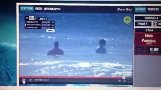 RipCurl PRO breast exposed during competition ... Who
