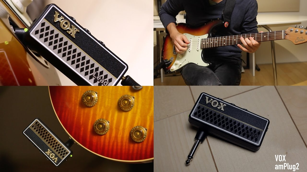 NEW Vox amPlug 2 Bass Headphone Guitar Amp