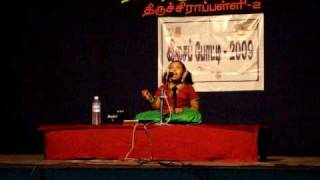 Indian classical-Sneha Sivakumar- ragam kaapi