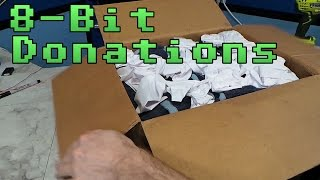 8-Bit Donation Unboxing April 2017