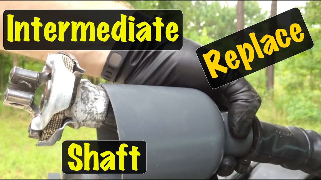 small resolution of 1995 96 97 98 99 2000 gm truck intermediate steering shaft replacement chevy gmc youtube