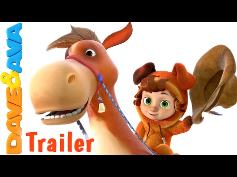 🤠 Yankee Doodle - Trailer | Nursery Rhymes and Baby Songs from Dave and Ava 🤠