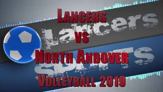 LHS Boys Volleyball vs North Andover Volleyball