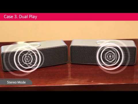 LG Music Flow Bluetooth Speaker P7
