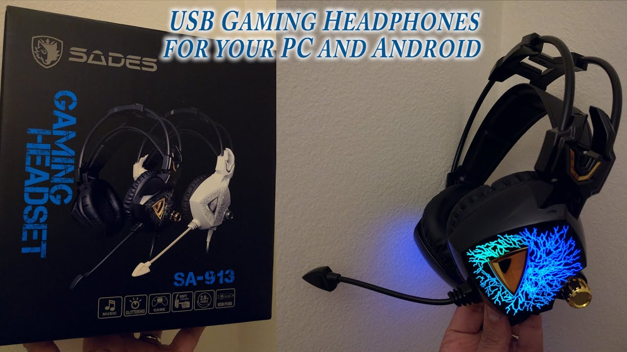 Gaming headset for your PC and Android device