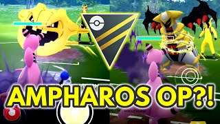 Ampharos Sweeps the Ultra League | Pokemon GO Battle League
