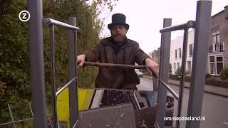 Jan Put rijdt met zijn bakfiets door Walcheren om oud ijzer op te halen