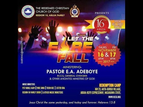 ABUJA SPECIAL HOLY GHOST SERVICE 2017_LET THE FIRE FALL.
