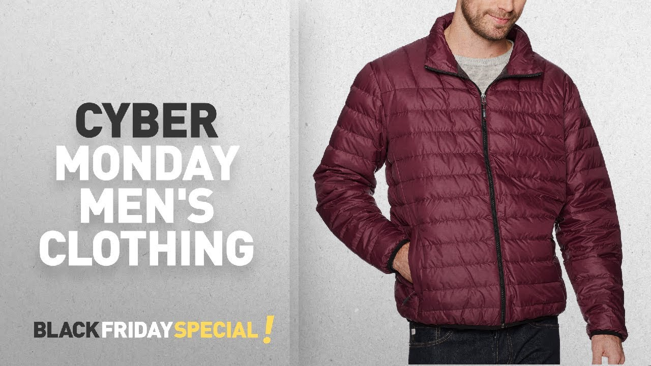 c54f92a781 Cyber Monday Hawke & Co Men's Clothing: Hawke & Co Men's Poly Packable  Puffer Jacket
