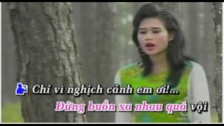 Karaoke Vi Trong Nghich Canh - (Song Ca Voi Ngoc Mi)