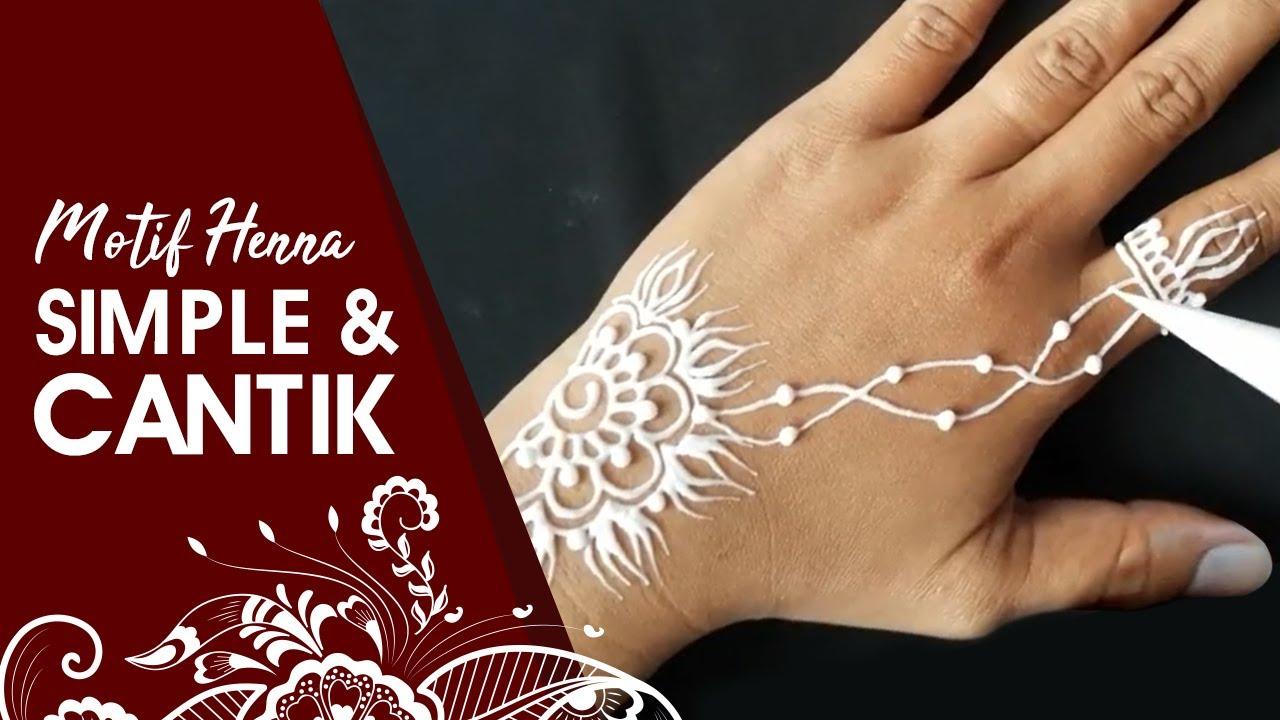 Henna Tatoo Simple 3 Whin Henna Youtube