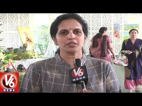 Crafts Council Of Telangana Holds 2 Day Handloom Exhibition At N Convention | V6 News