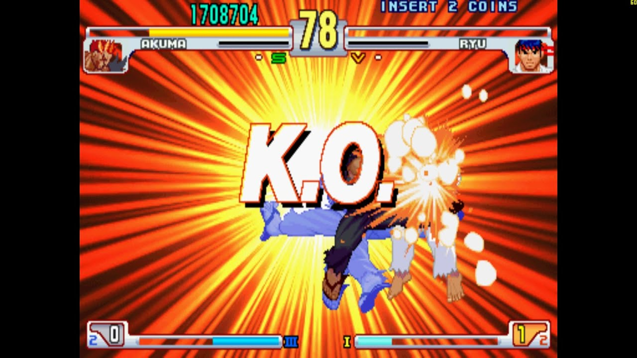 Street Fighter III 3rd Strike: Fight for the Future - Arcade Gameplay - 60FPS