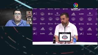 Rueda de prensa Real Valladolid CF vs Levante UD