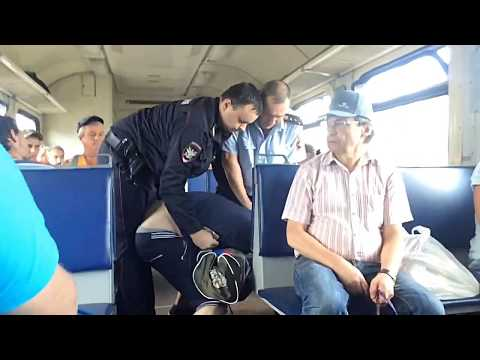 Полиция-электричка №6064 Вековка-Муром