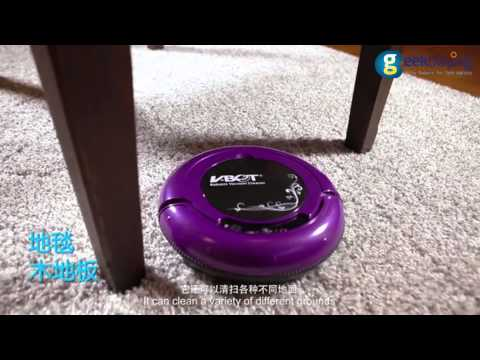 V.BOT T270 Auto Vacuum Cleaner Robot Smart Robotic Automatical Dust Cleaner