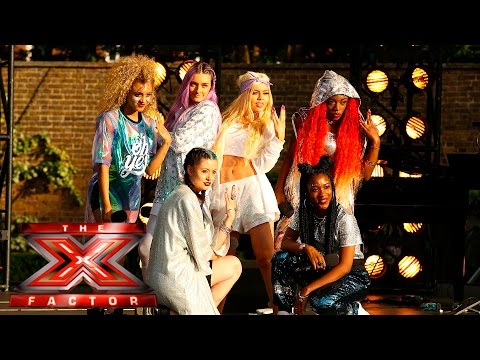 It's All About Alien for the Judges | Boot Camp | The X Factor UK 2015