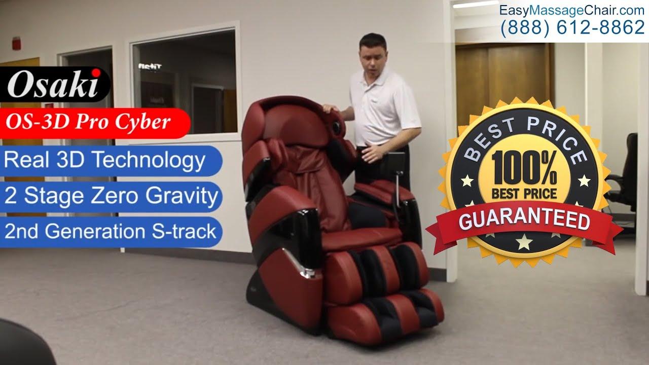 osaki os 3d pro cyber massage chair rocker recliner nursery youtube