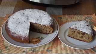 Домашние видео рецепты - вкусный кекс с халвой в мультиварке