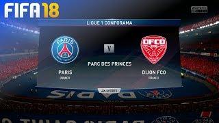 FIFA 18 - Paris Saint Germain vs. Dijon FCO @ Parc des Princes