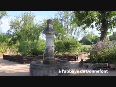 Le jardin médiéval de l'Abbaye de Bonnefont, mai 2016