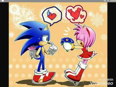 Sonic Love Her Girlfriend Amy Youtube