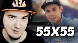 55x55 ▶ СЛЫШИТЕ МУЗЫЧКА! (feat. Ян Топлес) | Реакция