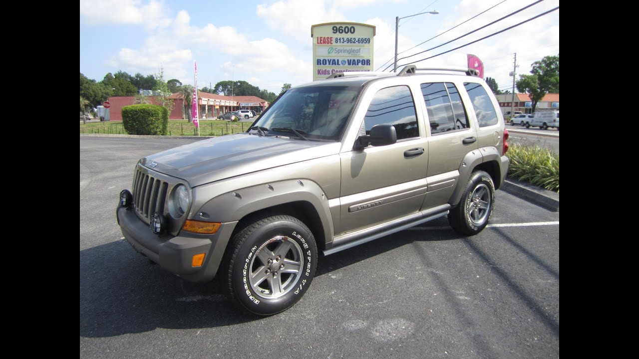 sold 2005 jeep liberty renegade 2wd meticulous motors inc florida for sale youtube. Black Bedroom Furniture Sets. Home Design Ideas