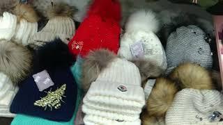 Зимние шапки и шарфы обзор от 24122018