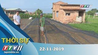 Thời Sự Tây Ninh 22-11-2019 | Tin tức hôm nay | Tây Ninh TV