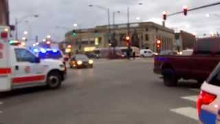 Chicago Fire Department: Spare SUV B509 Arriving