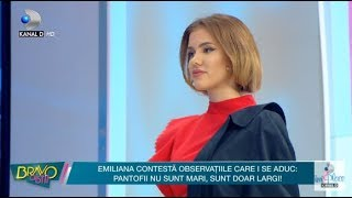 Bravo, ai stil! (03.11.) - Raluca despre Emiliana &quotEste ultima data cand vreau sa te m ...